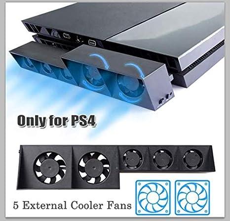 Ventilador de refrigeración PS4 Ventilador de refrigeración externo ...