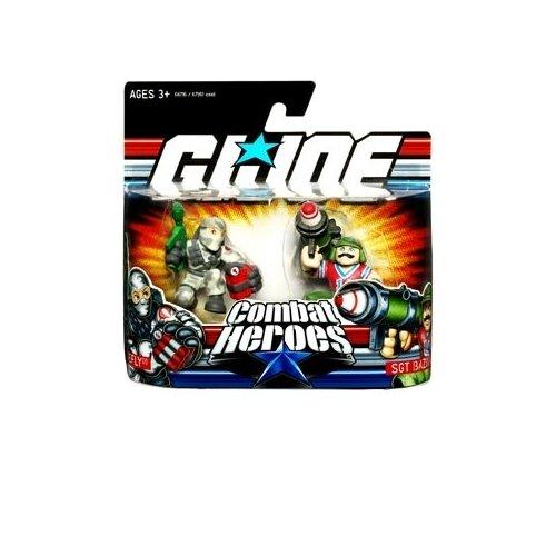 Gi Joe Bazooka (G.I. Joe Combat Heroes Wave 1 Bazooka & Firefly Figure 2-Pack)