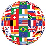 Beistle International Flag Plate, 7-Inch