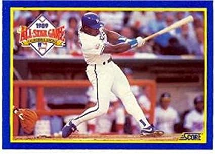 Bo Jackson Baseball Card Kansas City Royals Mvp 1990 Score
