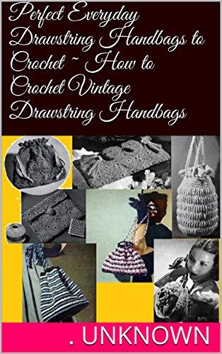 How To Crochet Drawstring Bags - 6