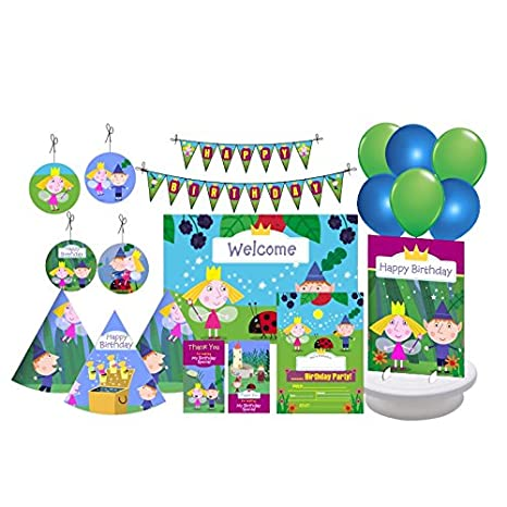 Pretty Ur Party Ben And Holly S Little Kingdom Decorations 90 Piece