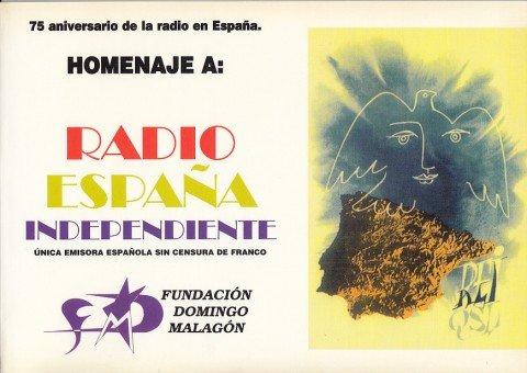 HOMENAJE A RADIO ESPAÑA INDEPENDIENTE 1941-1977 Única emisora española sin censura de Franco: Amazon.es: ORTIZ, ANTONIO; SARABIA, GUIOMAR Y OTROS: Libros