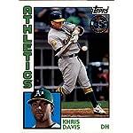 25044c02100 2019 Topps Series 1 Baseball 35th Anniversary 1984  84 T84-95 Khris Davis  Oakland... Baseball Cards
