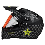 Woljay Dual Sport Off Road Motorcycle helmet Dirt Bike ATV D.O.T certified(XXL)