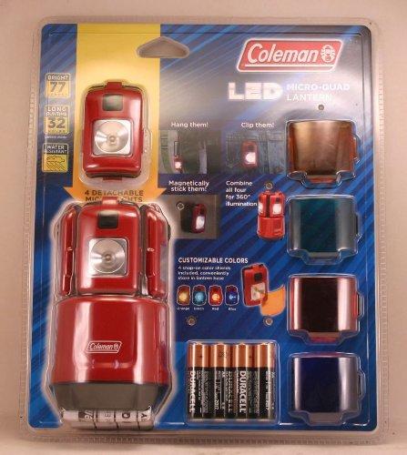 Coleman 4-in-One Micro-Quad LED Mini Lantern, Outdoor Stuffs