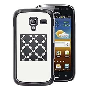 A-type Arte & diseño plástico duro Fundas Cover Cubre Hard Case Cover para Samsung Galaxy Ace 2 (Church God Prey Grey Beige)