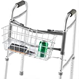 PCP Wire Basket for Dual Release Walker, White