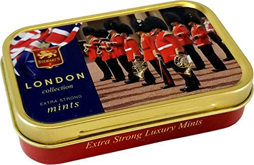 Stewart's Extra Strong Mints, Royal Guards, 1.6 oz Tins (Pack of 2)