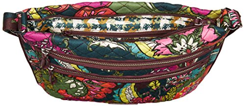 Bradley Signature Triple Zip Autumn Hipster Leaves Vera Cotton Iconic UqwfFXd