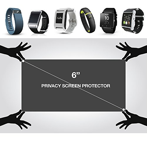 Universal 4-Way Privacy Screen Protector w/ Grid Universal Privacy Screen