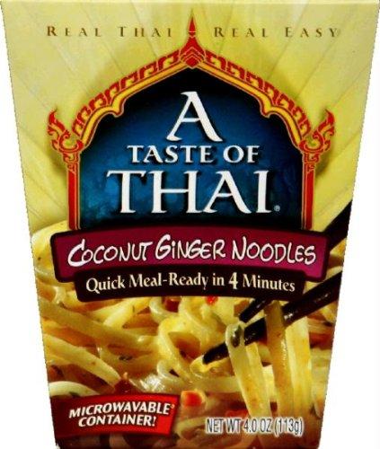 Quick Meal Noodles (A Taste Of Thai Quick MealCoconut Ginger Noodles (6x4Oz))