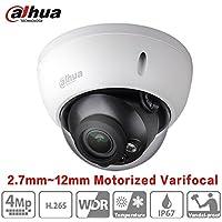 Dahua HDBW4431R-ZS 2.7mm~12mm 4MP Varifocal Motorized Zoom IP Camera H.265 PoE IP67 ONVIF Dome Network Camera International Version
