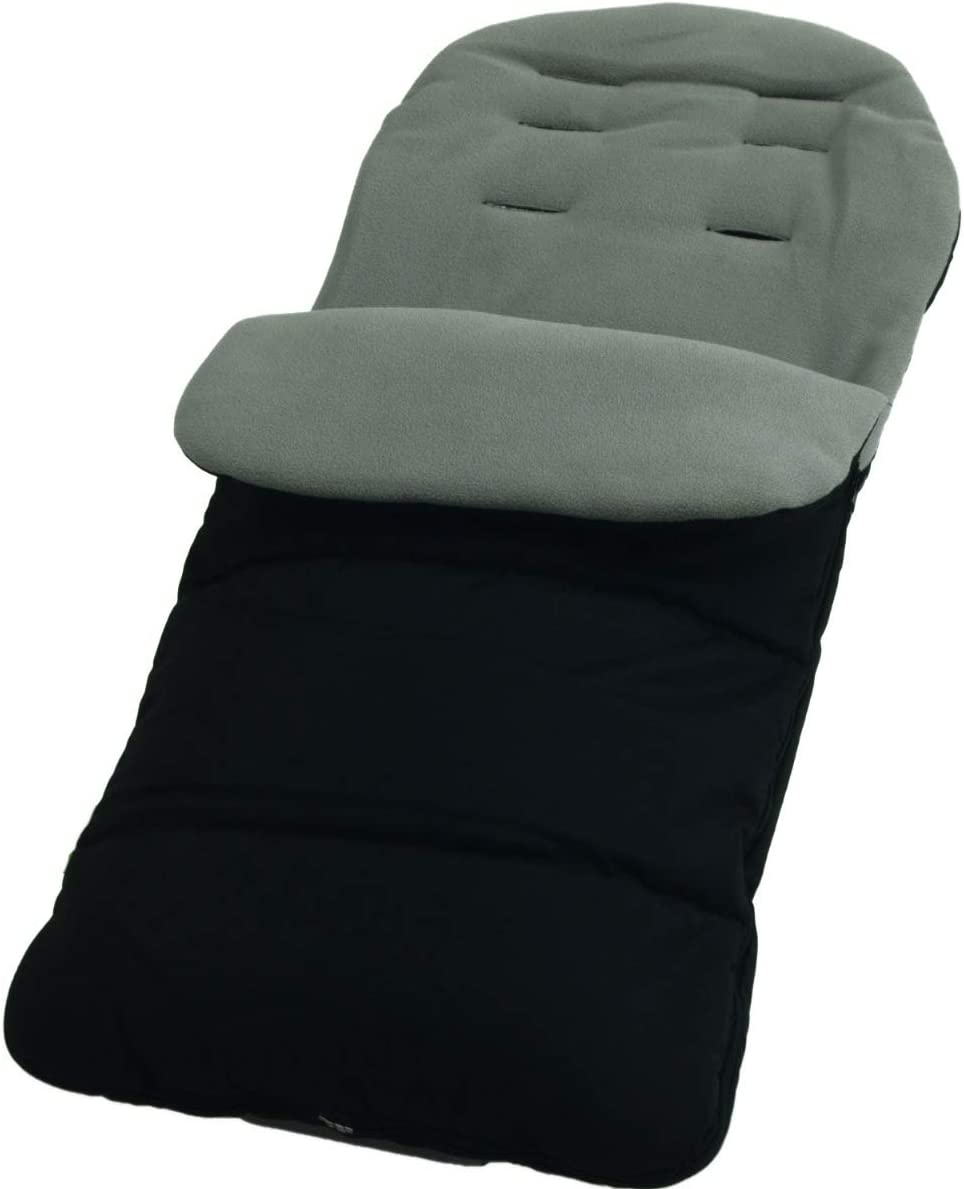 Dolphin Grey Premium Footmuff//Cosy Toes Compatible with Silver Cross Classic