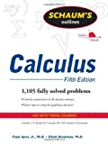 img - for Schaum's Outline of Calculus, 5th ed. (Schaum's Outline Series) by Frank Ayres (2008-08-25) book / textbook / text book