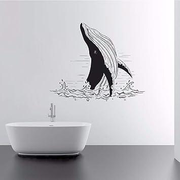 Pegatinas de pared lindas Decoración de baño para el hogar ...