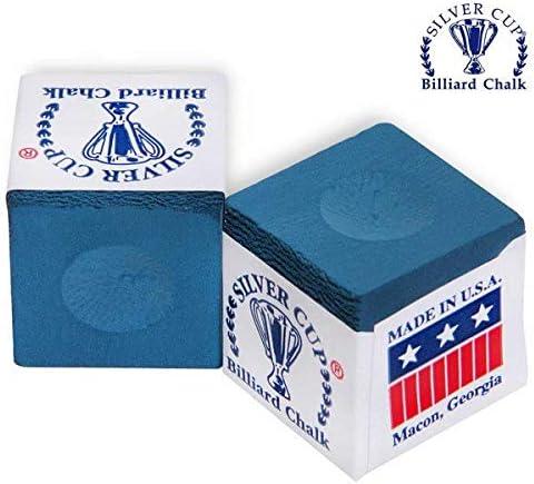 Color Azul Caja de 12 Silver Cup Marca de Tiza
