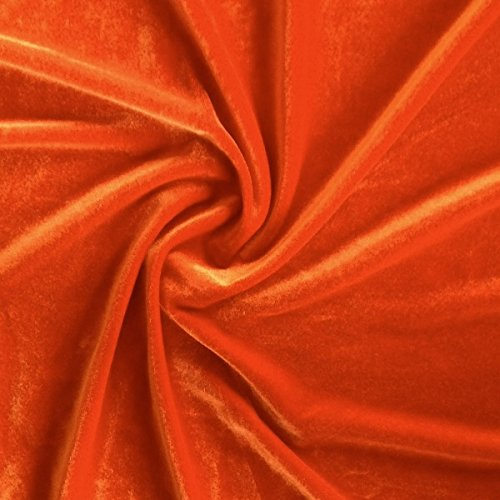 orange sewing fabric - 5