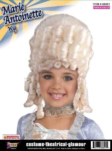 Forum Novelties Marie Antoinette Child's Costume Wig
