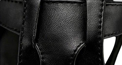 Versione Piani Sandali A Alti B Di Sandali Dimensioni Con Coreana Femminile 40 Sandali Roma I Tacchi Estate Modo colore Del Spessi Scarpe Sandali Selvaggio SZS0qF