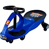 Lil' Rider 80-1288BL Chief Justice Police Wiggle Ride-On Car, Blue