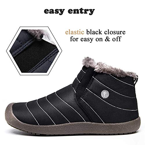 2b59e74be7c SITAILE Snow Boots