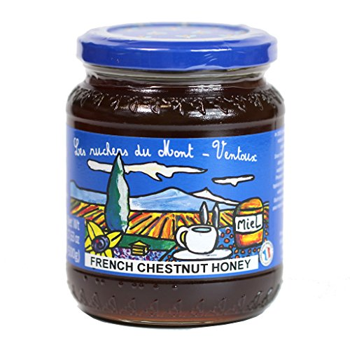 Provence Chestnut Honey, 17.6 oz (500g) by Les Ruchers du Mont-Ventoux