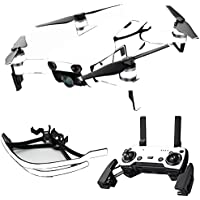 MightySkins Skin for DJI Mavic Air Drone - Solid White | Max Combo Protective, Durable, and Unique Vinyl Decal wrap cover | Easy To Apply, Remove, and Change Styles | Made in the USA