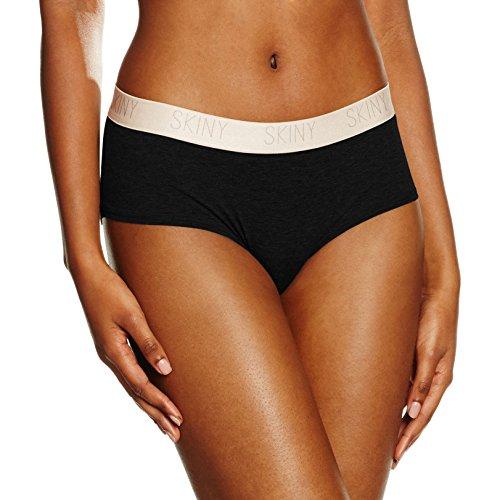 Skiny Pure Women / Da. Panty, Culotte para Mujer Negro (Black 7665)