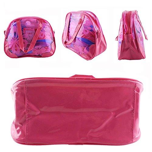 Transparent Wasserdicht Süßigkeit-Farben-Strandtasche / Wäsche-Beutel (Grün)