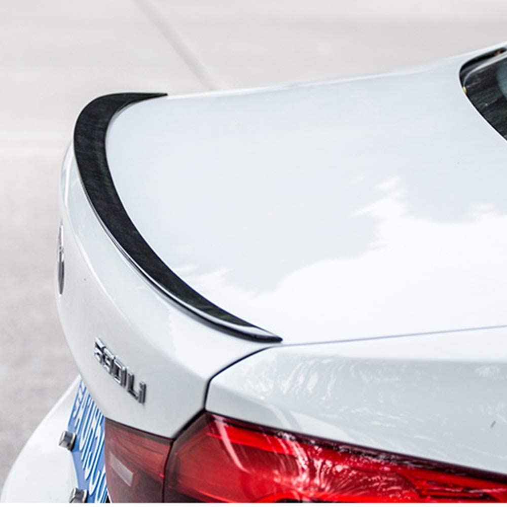 Punch Free Glued Adhesive schwarz ACEOLT Pr/ämie ABS Auto Spoiler Heckspoiler f/ür BMW 5 Series G30 2017-2020