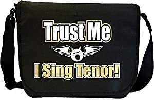 Vocalist Singing Trust Me I Sing Tenor - Sheet Music Document Bag Musik...