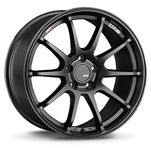 SSR GT V02 Flat Black Wheel with Painted Finish (18 x 9. inches /5 x 114 mm, 45 mm Offset)
