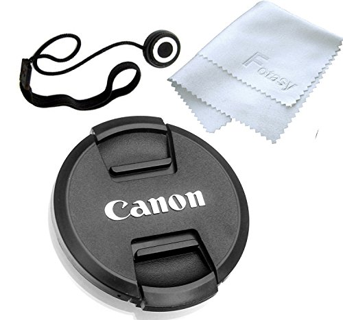 Fotasy 72mm Snap-On Lens Cap replaces E-72 II for Canon EOS