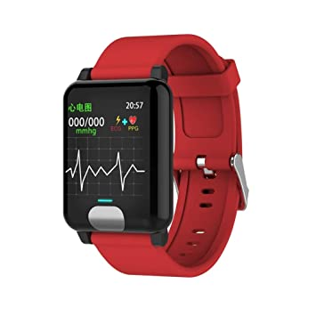 Waterproof Smart Watches ECG PPG Blood Pressure Measurement ...