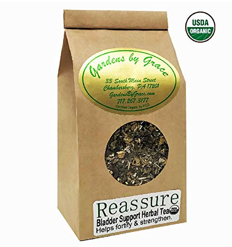 - Bladder, Kidney, Yeast, Prostate Cleanse, Detox Tea | Natural Remedy for Control, Overactive, Urgency and Incontinence | Organic, Vegan, 4 oz