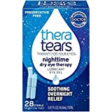 TheraTears Nighttime Dry Eye Therapy- Lubricant Eye Gel- Preservative Free MegaValue (3Packs of 28ct)