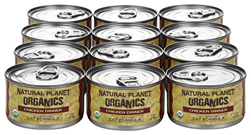Natural-Planet-Organics-Chicken-Dinner-for-Cats-Case-of-125-Ounce-cans
