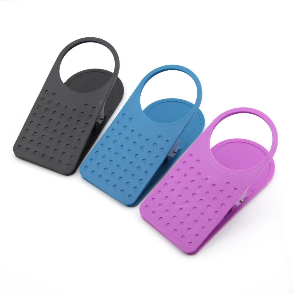 Amazon.com: 3pcs Plastic Colorful Clip On Table Desk Drink Cup Holder Clip:  Home U0026 Kitchen