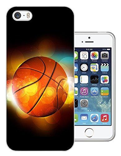 003063 - Basketball lights illustration Sport Design iphone SE / iphone 5 5S Fashion Trend Silikon Hülle Schutzhülle Schutzcase Gel Rubber Silicone Hülle