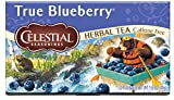 Celestial Seasonings True Blueberry Herbal Tea, 20 Count (Pack of 6)