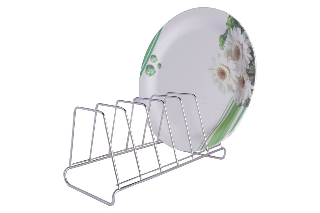 Buy BM Stainless Steel 6 Plate Rack Stand Online at Low Prices in India - Amazon.in  sc 1 st  Amazon.in & Buy BM Stainless Steel 6 Plate Rack Stand Online at Low Prices in ...