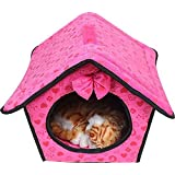 Soft Dog House Bed Daily Products For Pets Cats Dogs Home (S:242830cm)