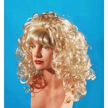 Lange Haare Perücken Lockige Blonde Mit Pony Amazonde Spielzeug