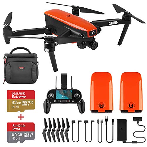 Autel Robotics EVO Foldable Drone Camera 60FPS 1080P 4K Camera Live Video with Wide-Angle Lens 30 Minutes Flying Time and Three-Way Obstacle Avoidance Mini Quadcopter