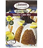 Namaste Foods, Gluten Free Vanilla Cake Mix, 26-Ounce Bags (Pack of 6)