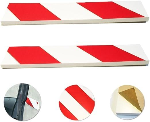 2tlg ANTIGRAFFIO UNIVERSALE CAR Paraurti Anteriore protezione angoli LIP Guard Protector