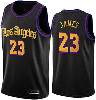 Hanbao NBA Lakers 23# James Camiseta de Baloncesto, City Edition ...