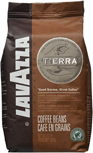 Lavazza Tierra! Intenso - Whole Bean Coffee, 2.2-Pound Bag
