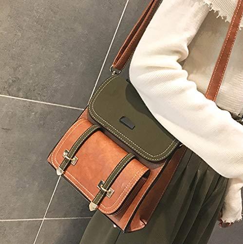 de en tendance à de à mode de à à léger dos main sac bandoulière Marron sac dames cuir 19 bandoulière Sac 21CM 9 sac EqZ0SdEw